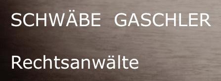 Schwäbe Gaschler Rechtsanwälte Logo