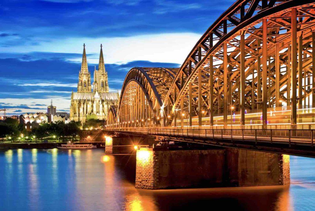 Blick auf Kölner Dom