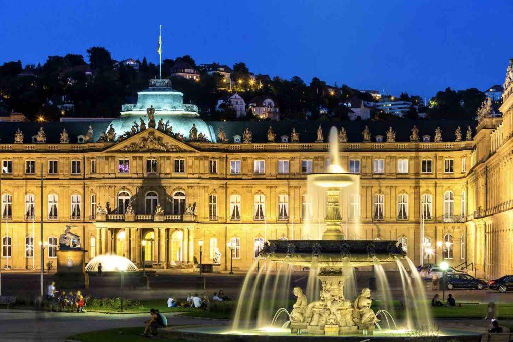 Blick auf Stadt Stuttgart